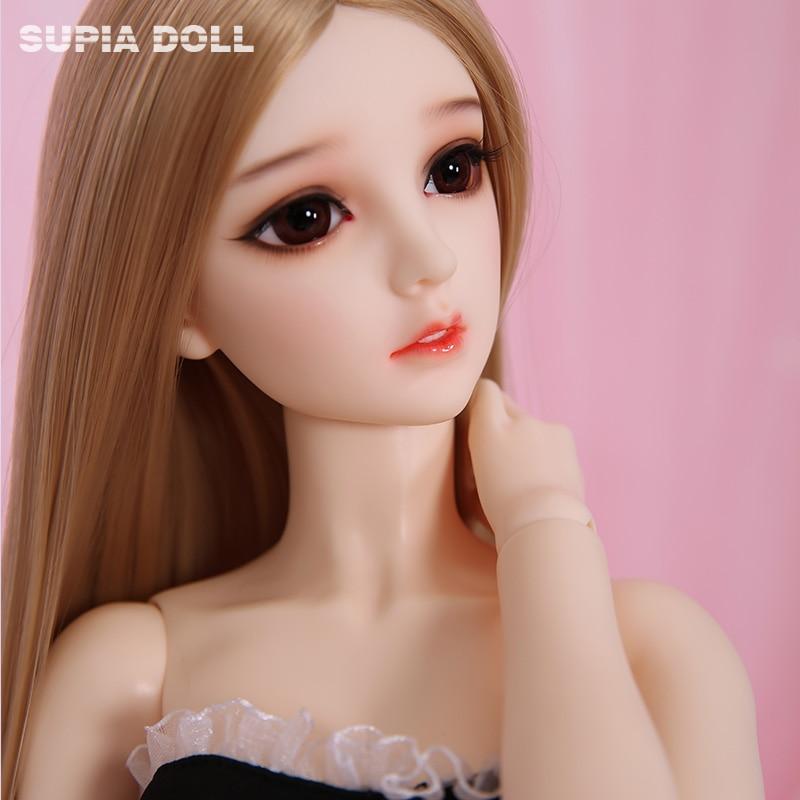 BJD Doll 1 3 Supia Roda Resin Girl Body Princess Style Toys For Girls Birthday Xmas