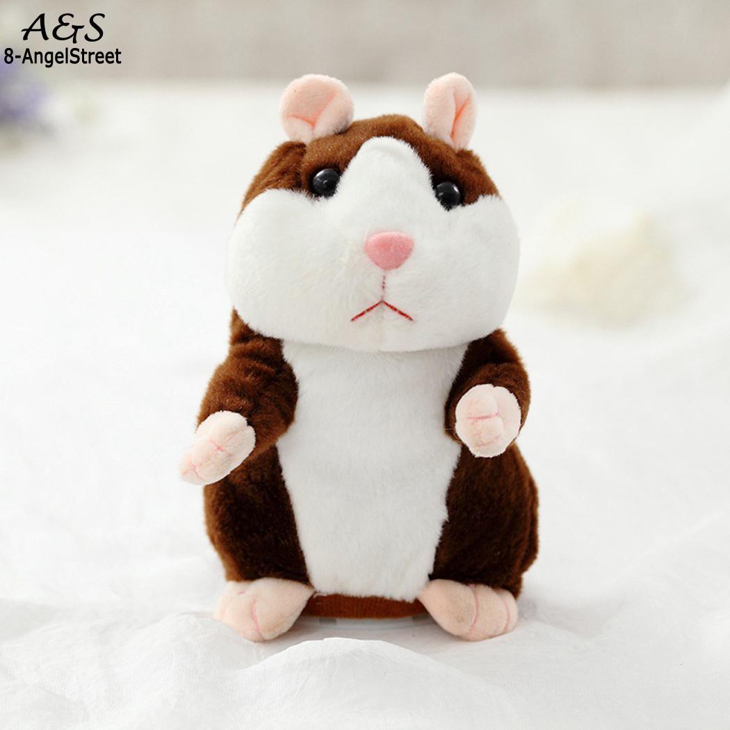 Children Kindergarten Home Hamster Plush Electronic Talking Etc Playground Funny Unisex Children S Toy Cute 3 Animal