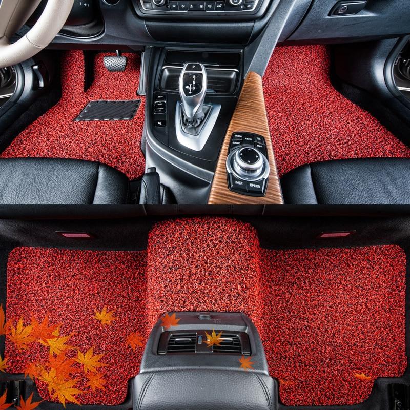 Floor Mats Automovil Mouldings Decorative Protector Interior Accessories Automobile Modified Modification Carpet Car Floor Mats For Kia K3