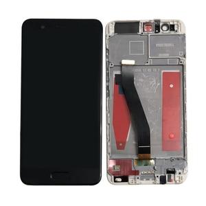 "Image 3 - 5.1 ""מקורי נבדק M & סן עבור Huawei P10 VTR AL00 VTR L09 VTR L29 VTR TL00 מסגרת LCD תצוגת מסך + מגע פנל Digitizer P10"