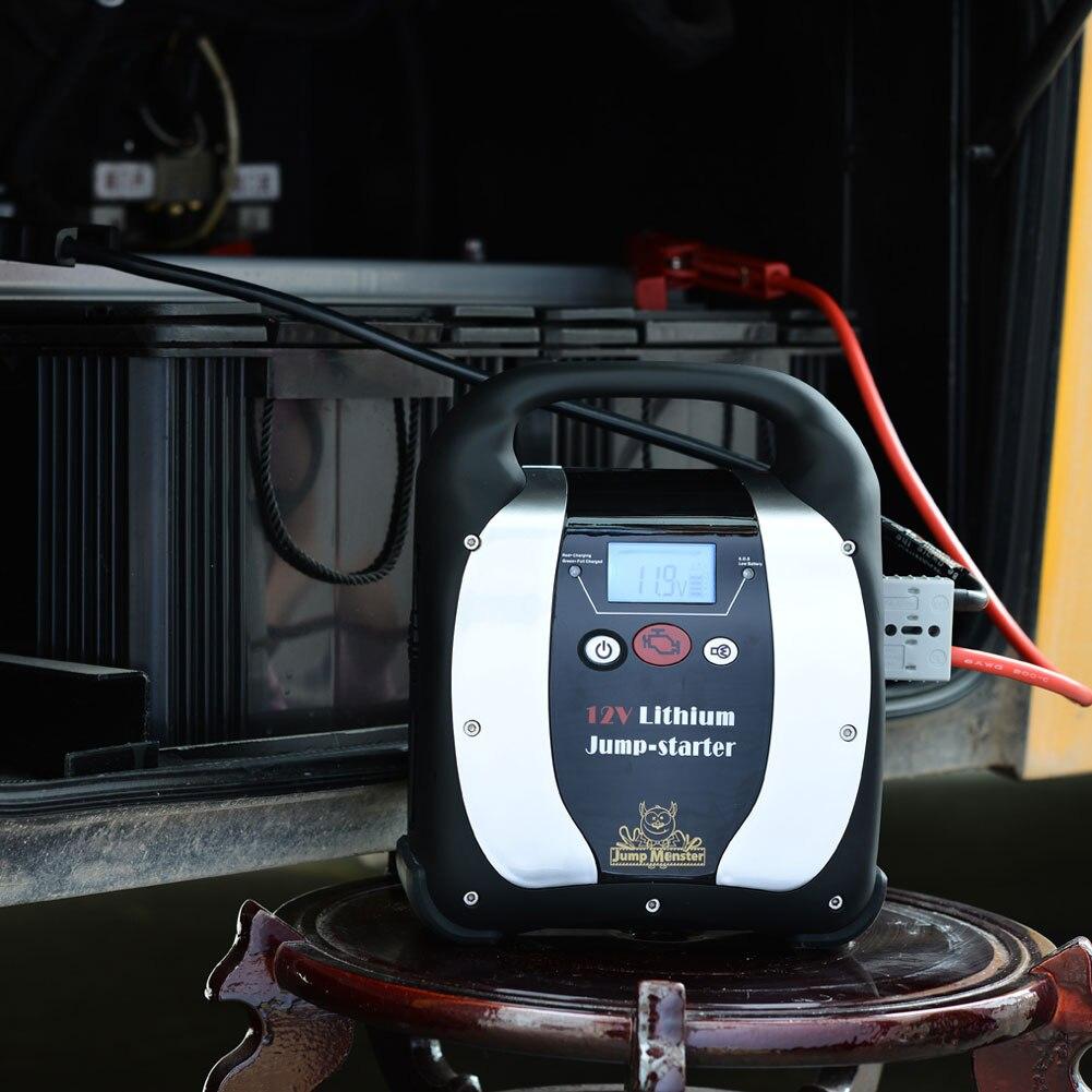27000 12 в 9000 мАч USB ЖК дисплей автомобиля скачок стартер открытый портативный автомобильный интерьер батарея зарядное устройство литий полиме