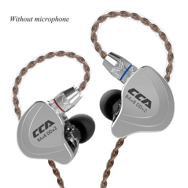 Portable Earphones CCA C10 Bass Stereo Hd In - Ear Balance Mobile Earbuds Sports Phone Universal Delicate Wire Control Devices