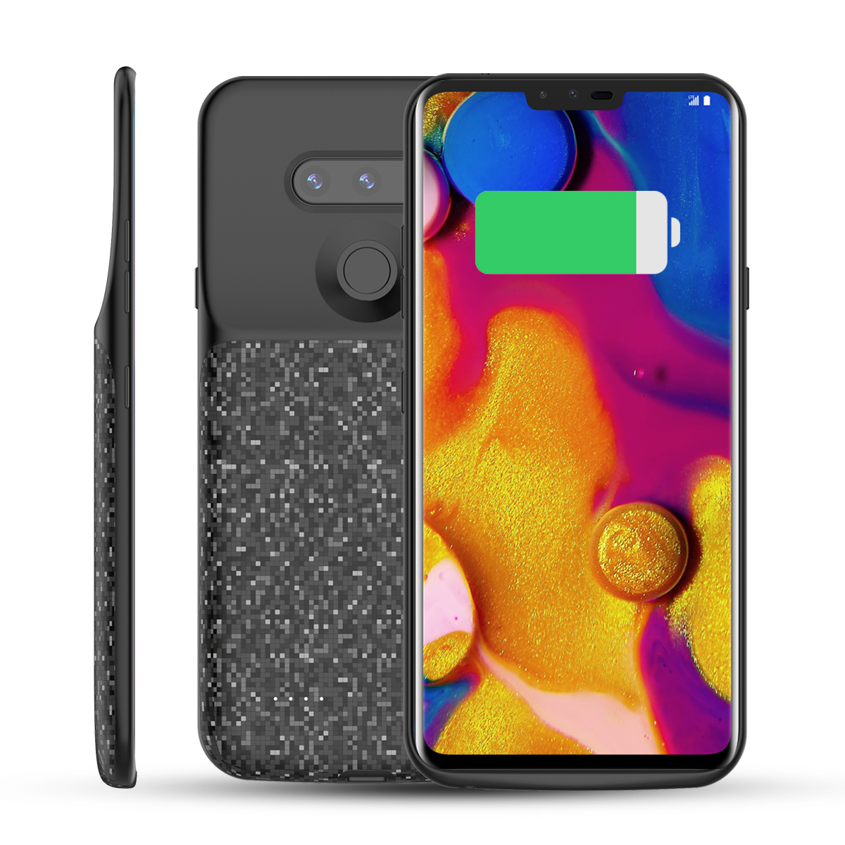 For LG V40 ThinQ Battery Charger Case 5200mAh External Backup Power Bank Phone Protector Phone cover For LG V40 ThinQ Case фото