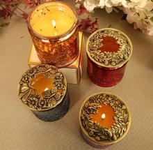 Home Supplies / Vintage Metal Candlestick Accessories Exquisite Stylish Smart Cap Aromatherapy