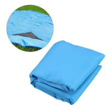 Blue Durable Lightweight Compact Sand & Water Proof Outdoor Picnic Blanket Oversized Foldable Beach Mat(China)