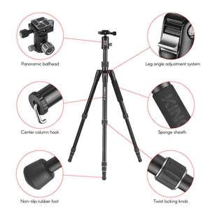 Image 3 - Kingjoy G22+G00 Portable Camera Tripod Monopod Travel With 360 Degree Ball Head For Canon Sony Nikon Dslr Ildc Cameras