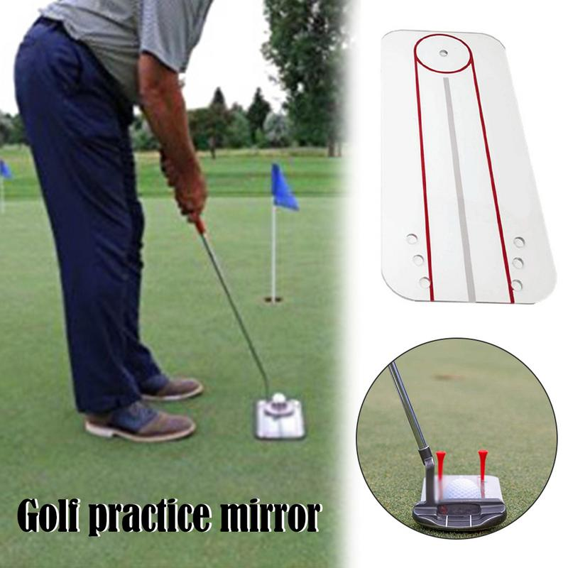 Image 2 - New Golf Practice Mirror Swing Practice Mirror Swing Trainer Golf Sport Sturdy And Durable Golf Practice Mirror Portable-in Golf Training Aids from Sports & Entertainment