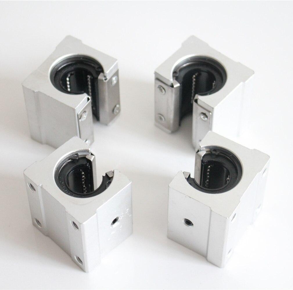 10mm Linéaire Rail SBR10 300/500/600/1000mm Entièrement Pris En Charge Glisser Arbre Tige Guide avec 4 pièces SBR10UU Bloc - 5