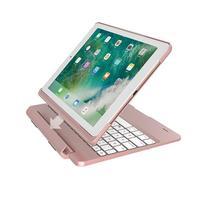 iPad Keyboard Case foR iPad 2017 (5th Gen) iPad Pro 9.7 Air 2 Thin & Light 360 Rotatable Wireless/BT iPad Case with Keyboard