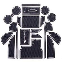 Per Mazda CX-5 CX 5 CX5 KF 2018 2019 Fessura del Cancello Pad antiscivolo Tazza di Zerbino s Anti Slip porta Scanalatura Zerbino Interni Car Styling Accessori