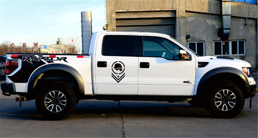12 quot x19 quot 30cmx50cm Truck Bed Side Stripe Decal Vinyl Car Sticker fof FORD DODGE CHEVY in Car Stickers from Automobiles amp Motorcycles