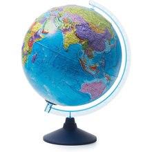 Глобус Земли Globen политический рельефный с подсветкой, 320мм