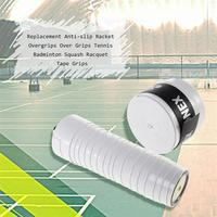 60Pcs Sport Sweatband Replacement For Racket Anti slip Overgrips Over Grips Tennis Badminton Squash Racquet Tape Grips