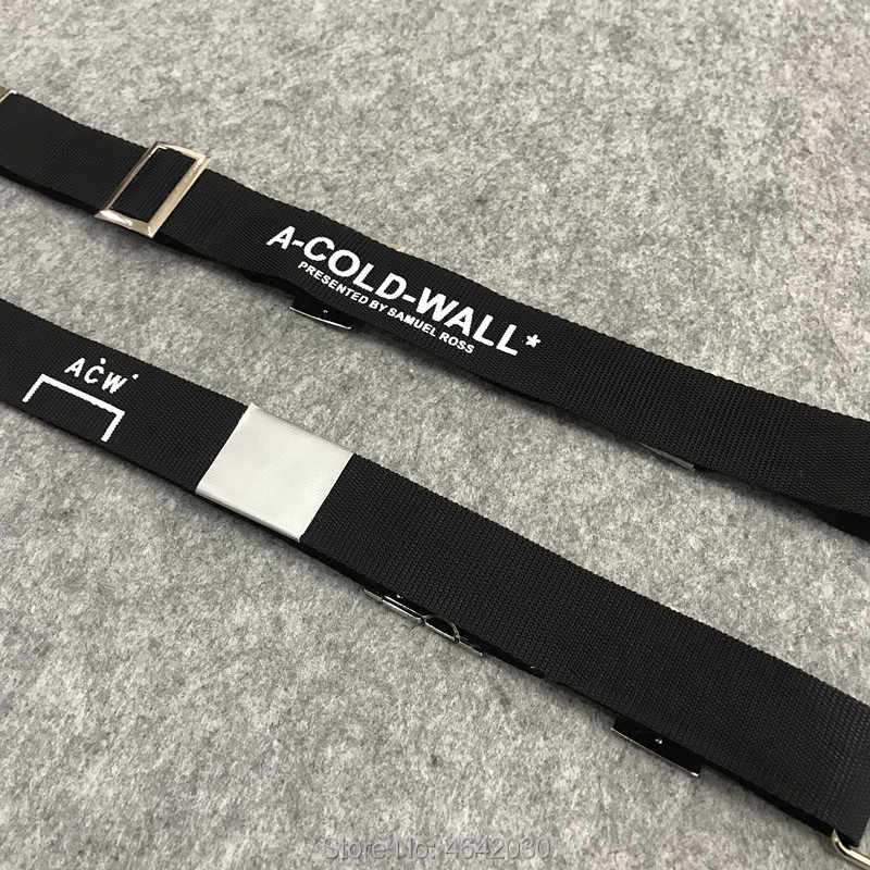 new design special sales new arrivals 2019ss new Best Version Japan Hiphop ACW A COLD WALL Belt ...