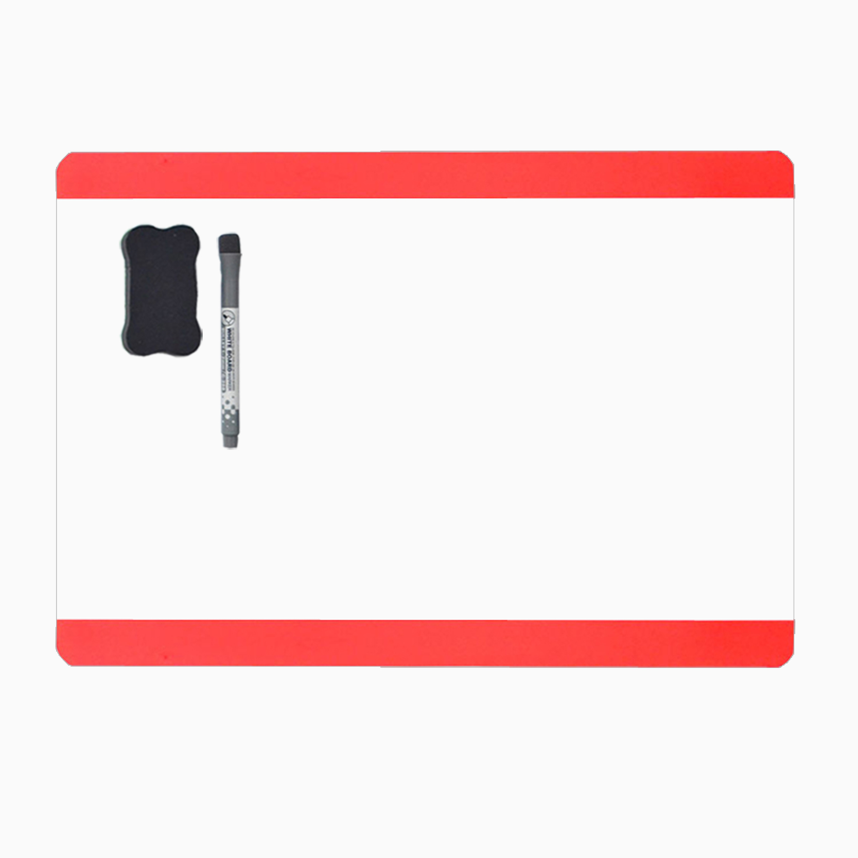 Magnetic Fridge Magnetic Chalkboard Calendar A4 Smart Dry Erase Board Board Magnet Board Fridge Magnetic Fridge[Long Side][Red]