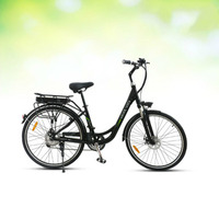 AD0300026 Motor driven Bicycle Adult Vehicle Two Car Wheel Sole 700C 21 Speed City Electric Vehicle