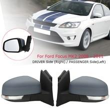 Двери автомобиля Электрический крыло зеркало водителя/пассажирская сторона для Ford/Focus MK2 2008 2009 2010 2011