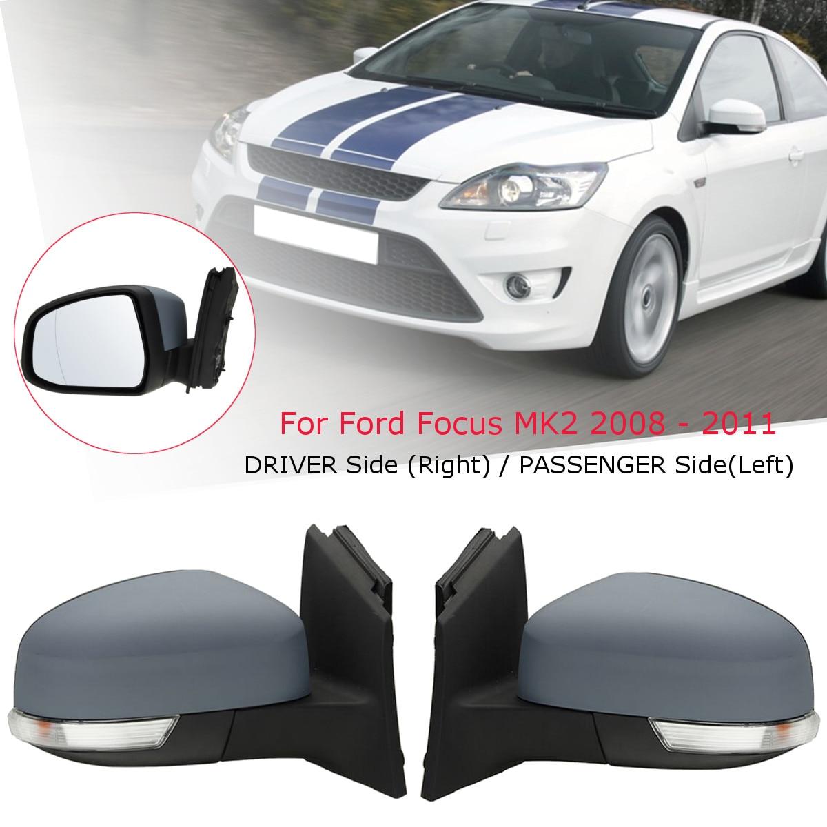 Car Door Electric Wing Mirror Driver /Passenger Side For Ford/Focus MK2 2008 2009 2010 2011Car Door Electric Wing Mirror Driver /Passenger Side For Ford/Focus MK2 2008 2009 2010 2011