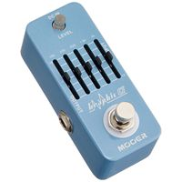 MOOER Graphic G Mini Guitar Equalizer Effect Pedal 5 Band EQ True Bypass Full Metal Shell