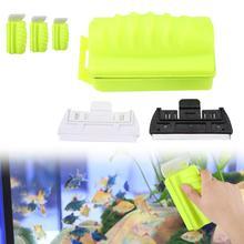 Щетка для аквариумных рыб, магнитный очиститель для аквариумных рыб, скребок для водорослей, щетка для очистки аквариума, инструмент для очистки