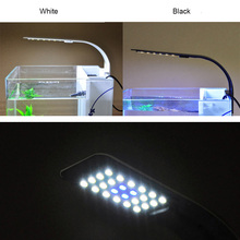 LED Aquarium Plants Grow Light 10W Aquatic Plant Lighting Clip-on Lamp for Fish Tank WXV Sale цены онлайн