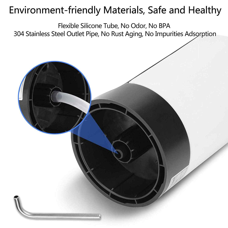 زجاجة ماء مضخة USB شحن التلقائي مضخة مياه الشرب المحمولة الكهربائية موزع مياه زجاجة مياه التبديل ل U