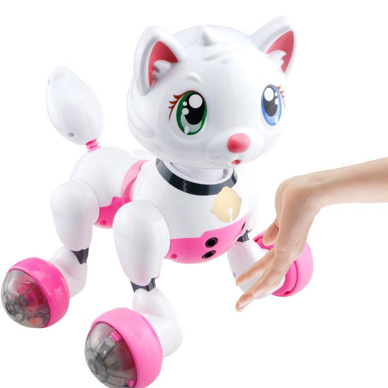 Puzzle Robot Chien Électrique Jouet Parler Électronique Pet Chien Enfants vocale Interactive Nouveauté Jouets Pour Filles Cadeaux