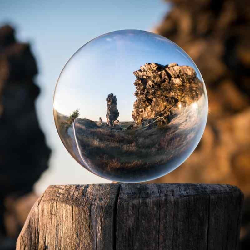 2019 חדש מלאכותי ריפוי זכוכית קריסטל כדור כדור קישוט קישוטי מתנה בסגנון הסיני פנג שואי קישוט כדור מתנה
