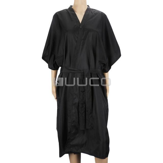 4 adet/grup Su Geçirmez Elbiseler/Kuaförlük Aksesuarları/Kimono Robe/Makyaj Elbise/Gündelik Elbise ev için/saç colorists/Spa vb