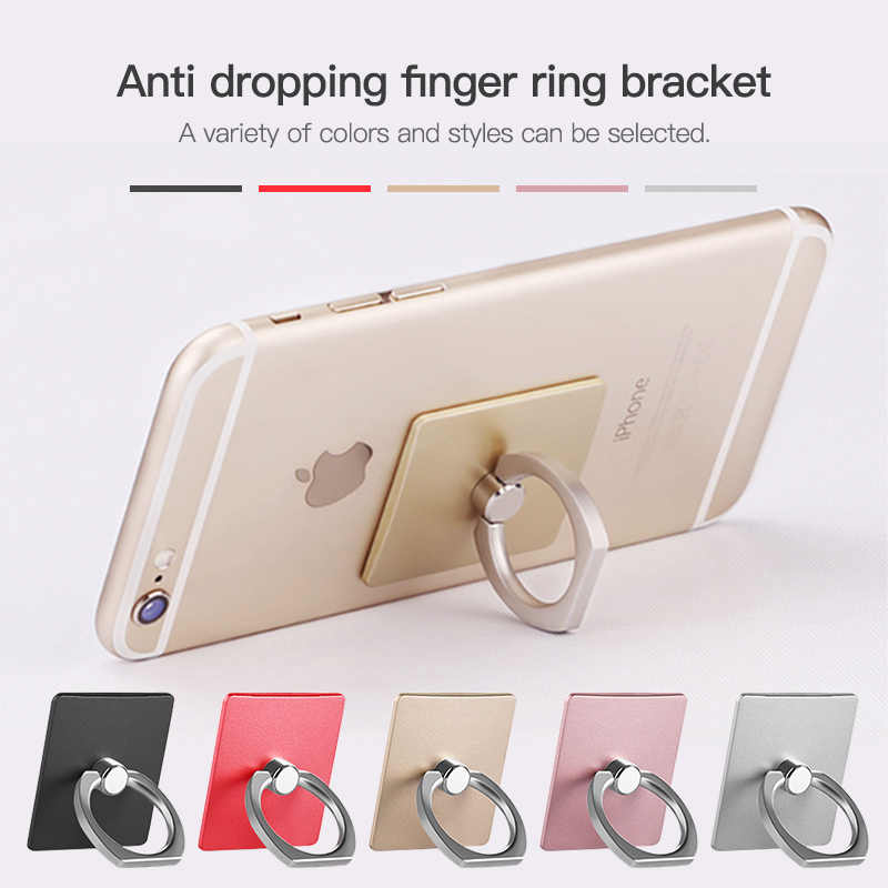 Finger Ring Phone Stand For iPhone XS Max Universal Mobile Phone Accessories Smartphone Cell Phone Holders For Samsung Xiaomi