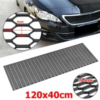 120cm Universal Racing Honeycomb Mesh Grill Bumper Vent Car Styling Air Intake Meshed Grille For Benz for Audi