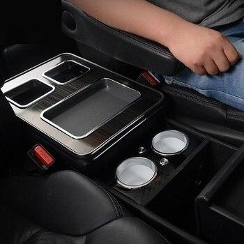 Carro-styling Styling Carro Decoração Molduras Interior Modificado Decorativo Descanso de Braço Apoio de Braço Caixa de 15 16 17 18 PARA Honda odisséia