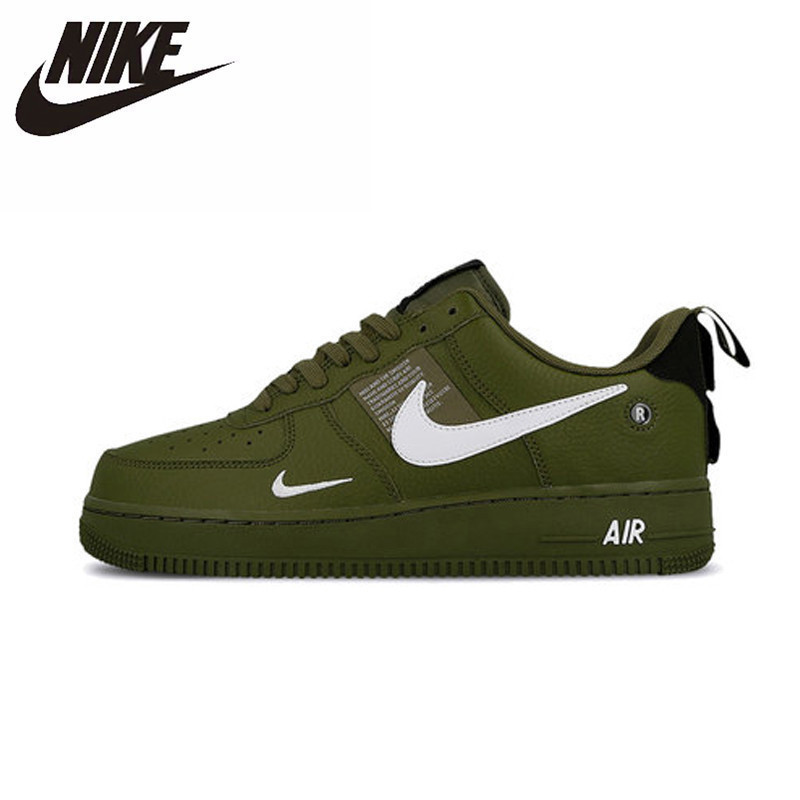 Nike Air Force AF1 Original New Arrival Men Skateboarding Shoes Leather Sports Outdoor Sneakers #AJ7747-300Nike Air Force AF1 Original New Arrival Men Skateboarding Shoes Leather Sports Outdoor Sneakers #AJ7747-300