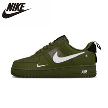 Nike Air Force AF1 Original New Arrival Men Skateboarding Shoes Leather Sports Outdoor Sneakers #AJ7747-300 nike new arrival air force 1'07 af1 breathable utility men running shoes low comfortable sneakers aj7747