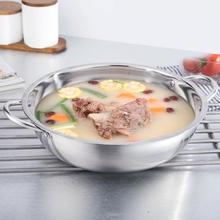 Высокое качество 30 см нержавеющая сталь горячий горшок Shabu индукционная плита газовая плита совместимый горшок домашняя кухонная посуда суп кастрюля