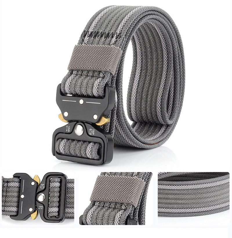 New Style Top-quality Tactical Military Belt Mens Outdoor Sports Belt Thick Tactical Belt Waist Support Tactical Vest