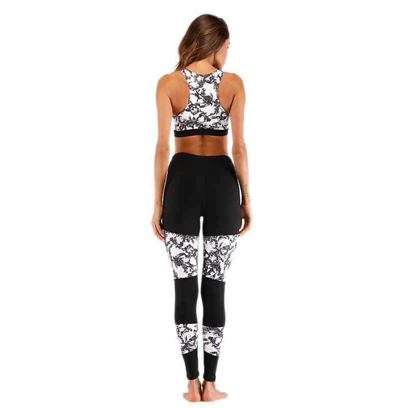 25e9bfc03c10b ... Sport Suit Women Fitness Clothing Sport Wear Yoga Set Gym Jogging Suits  Sportswear Running Leggings ropa ...
