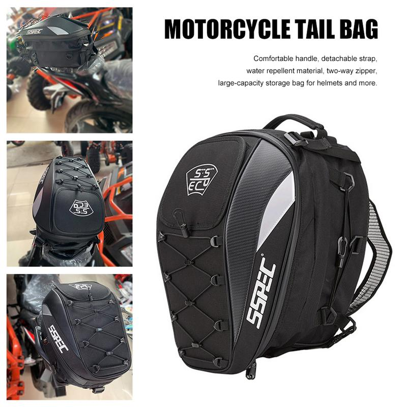 Motorcycle Accessories Motorcycle Tail Bag Racing Back Seat Backpack Knight Can Helmet Locomotive Riding Multi-Function BagMotorcycle Accessories Motorcycle Tail Bag Racing Back Seat Backpack Knight Can Helmet Locomotive Riding Multi-Function Bag
