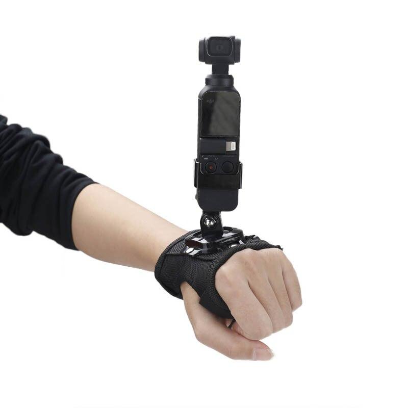 Pour DJI OSMO poche à main cardan Mini caméra sangle de paume bande fixe adaptateur de fixation de cardan pour GoPro Hero stabilisateur accessoires