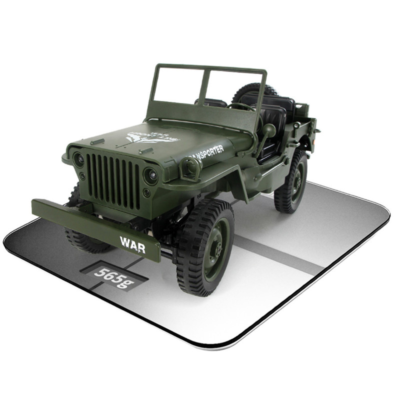JJRC Q65 2.4G 1/10 Jedi Proportional 15km/h Remote Control Crawler Military RC Car With Canopy LED Light MiNi Car Kids Toys 2019 willys jeep 1 10
