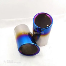 MONTFORD For Mazda 6 Atenza CX-5 CX5 2009-2016 Stainless Steel Tail Exhaust Muffler Tip End Pipes Silencer Pipe 2Pcs Car Styling