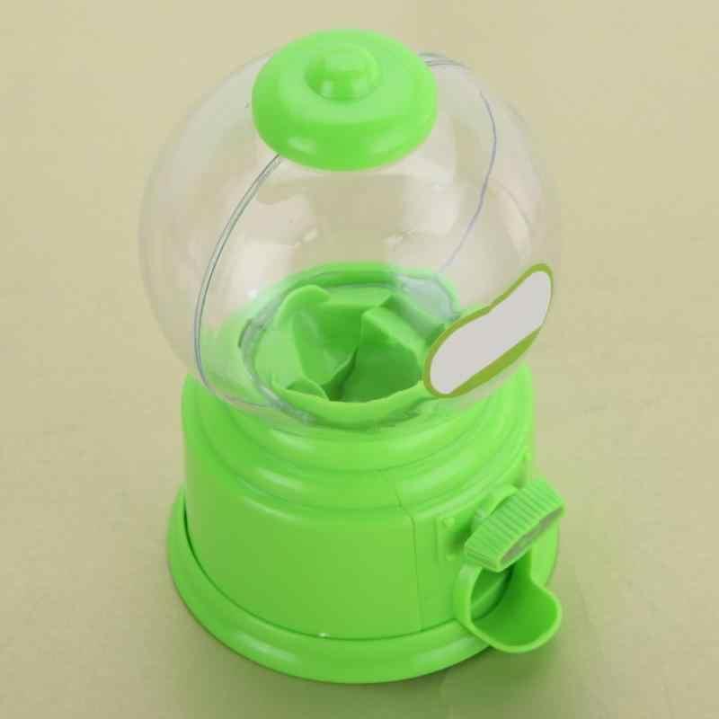 Creative mignon bonbons Mini Machine à bonbons bulle Gumball distributeur banque de pièces enfants jouet entrepôt prix anniversaire cadeau tirelire