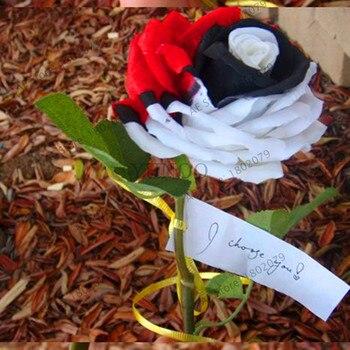 New 2018!200pcs/bag rare mixed COLORS rose garden rainbow rose flores bonsai flower plantas black rose rare balcony plant for