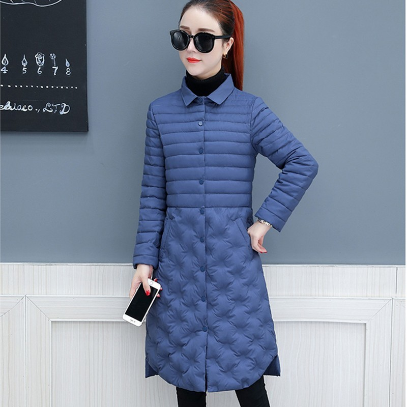 Helpful Winter Pu Leather Jacket Women 2018 Fashion Thick Warm Embroidery Mother Down Cotton Parka Large Fur Collar Retro Overcoat S150 Parkas