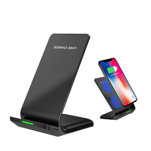 Qi Wireless Charger Fast Charging Phone Stand Dock For IPhone Samsung
