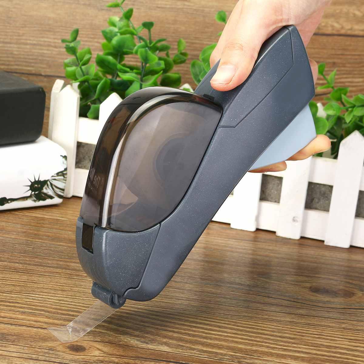 12/19mm Einer Presse Band Dispenser Handheld Klebstoff Halter Verpackung Cutter Werkzeuge Abdichtung Maschine Büro Schule Liefert 2 farben