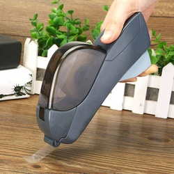 12/19mm One Press Tape Dispenser Handheld Adhesive Holder Packaging Cutter Tools Sealing Machine Office School Supplies 2 Colors