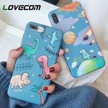 LOVECOM Cartoon Dinosaur Phone Cases For iPhone
