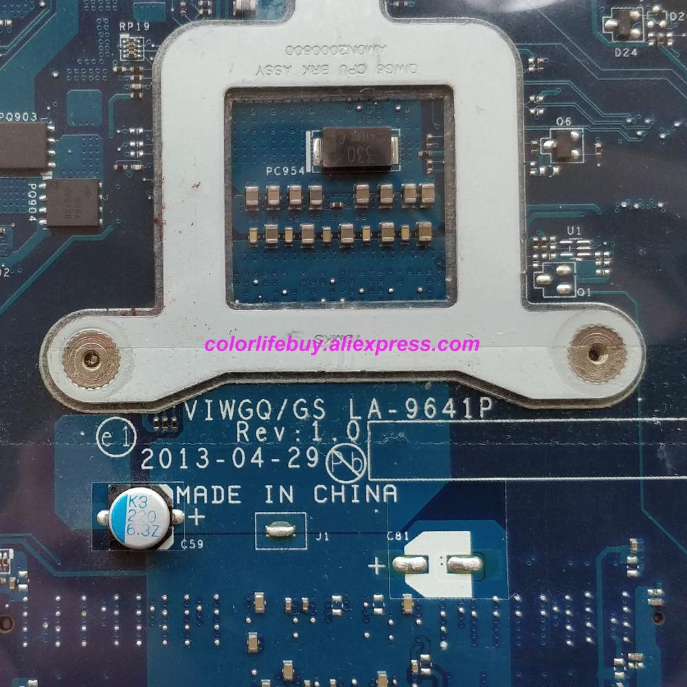 Image 5 - Genuine 11S90003670 90003670 VIWGQ/GS LA 9641P w HD8750/2GB Laptop Motherboard Mainboard for Lenovo G510 NoteBook PC-in Laptop Motherboard from Computer & Office
