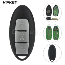 Remotekey Smart remote key for  Nissan Teana 3 Button 433.9Mhz 4A ID47 chip Keyless Entry Car Key Replacement 2013-2017